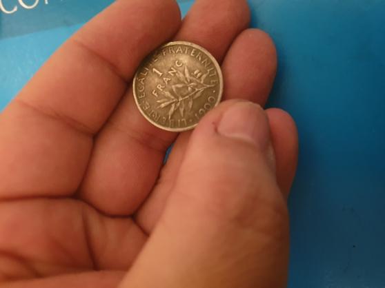 Annonce occasion, vente ou achat 'Ancienne pièce de monnaie 1 francs 1900'