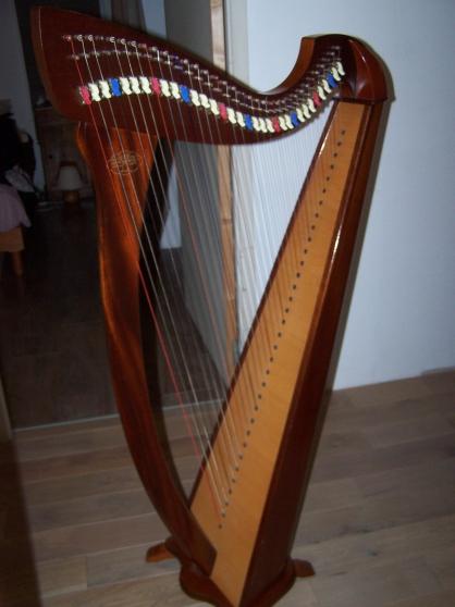 Annonce occasion, vente ou achat 'Harpe celtique 34 cordes korrigan'