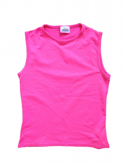 Tee-shirt rose fluo