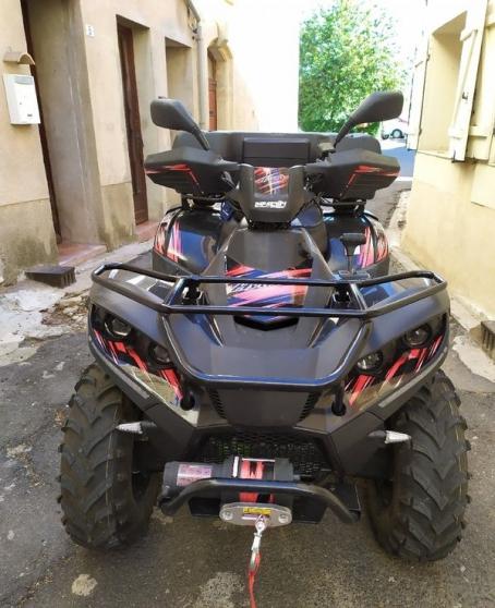 Annonce occasion, vente ou achat 'QUAD Linhai 500cc'