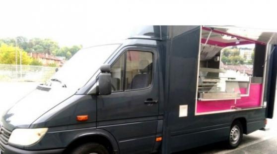 camion mercedes sprinter cdi food truck
