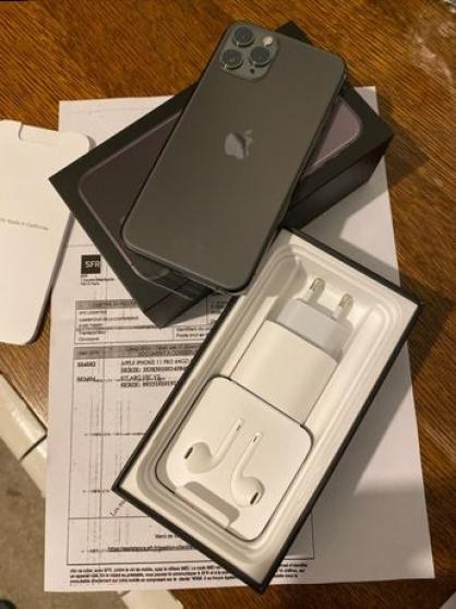 iphone 11 pro neuf noir gris sidéral 64g - Annonce gratuite marche.fr