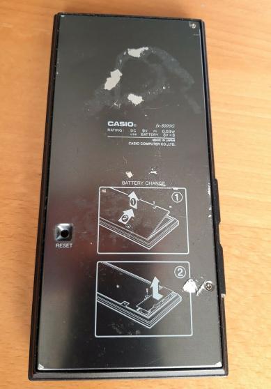 Calculatrice graphique Casio 800G
