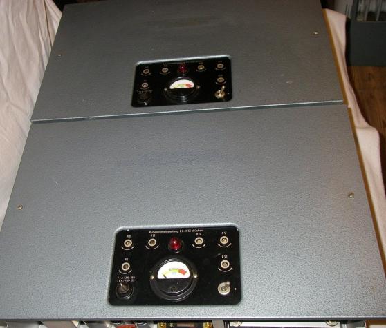 Paire Amplificateurs Siemensklangfilm 6