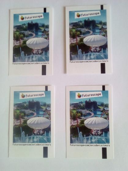 Annonce occasion, vente ou achat 'Futuroscope billets adultes/30 euros'