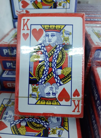 Destockage 50 jeux de 54 cartes Poker