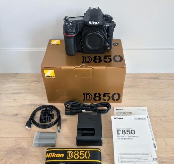 Annonce occasion, vente ou achat 'Nikon D850'