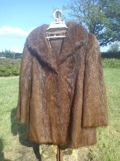 Manteau fourrure ragondin v tements femme vestes et manteaux bonnesvalyn r - Achat de manteau en ligne ...