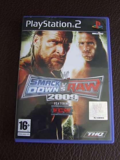 Jeu pour PS2 - Smack down vs raw 2009