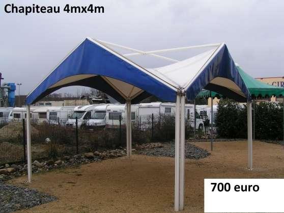 Chapiteau 4mx4m