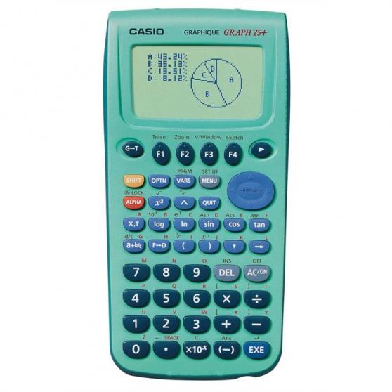 calculatrice casio graph 25+