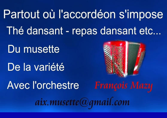 Orchestre Musette et variété Maubeuge - Photo 4