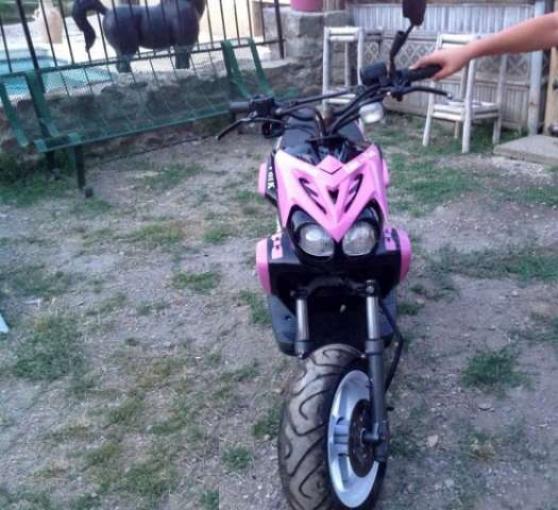 scooter mbk stunt