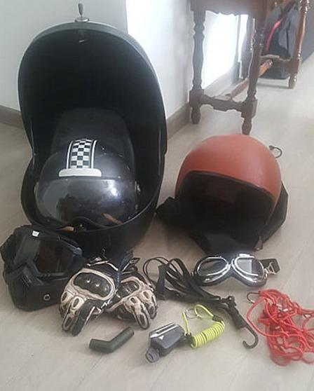 Divers accessoires moto