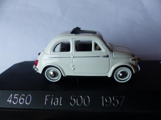 2 FIAT 500 et 850 SOLIDO 1/43ème