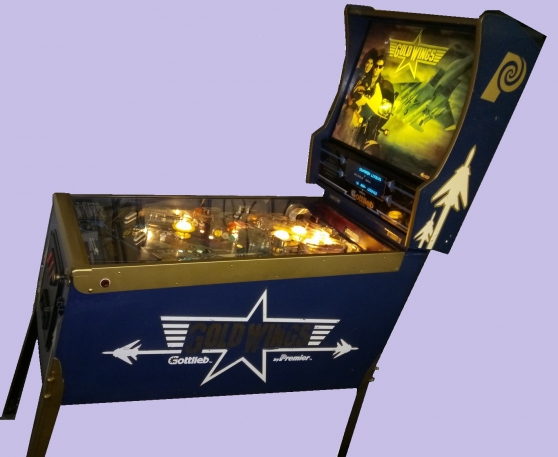 Annonce occasion, vente ou achat 'Flipper Gold wings de Gottlieb'
