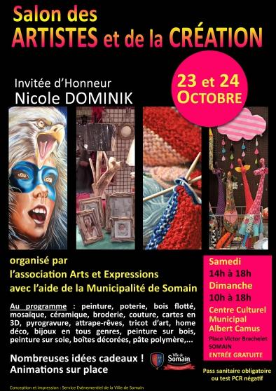 Annonce occasion, vente ou achat 'Salon des Artistes et de la Création'