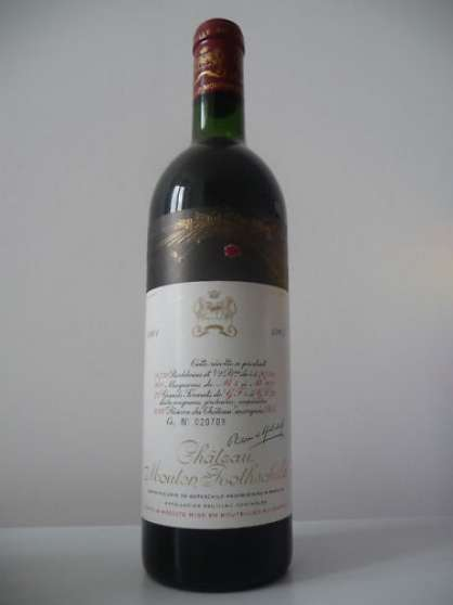 2 CHATEAU MOUTON ROTHSCHILD 1961