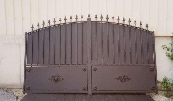Portail Fer Artisanl Modèle Balthazar