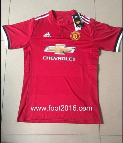 maillot domicile de Manchester United 17