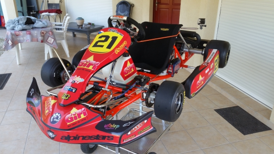 Annonce occasion, vente ou achat 'KARTING 125CC ROTAX MAX AVEC REMORQUE'