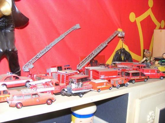 collection vehicule de pompiers