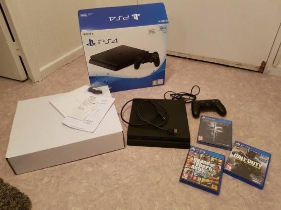 Playstation 4 SLIM 500 Go noir