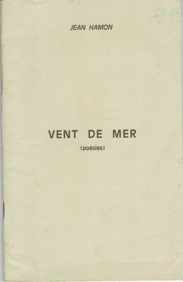 Vent de Mer – Poésies - Jean Hamon