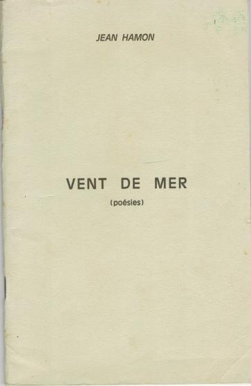Annonce occasion, vente ou achat 'Vent de Mer – Poésies - Jean Hamon'