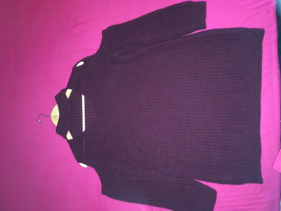 pull violet taille 42/44 quasi neuf - Annonce gratuite marche.fr
