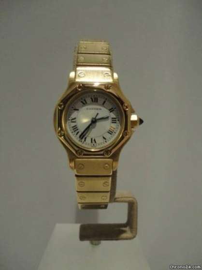 Annonce occasion, vente ou achat 'Cartier Santos lady or massif 18k'