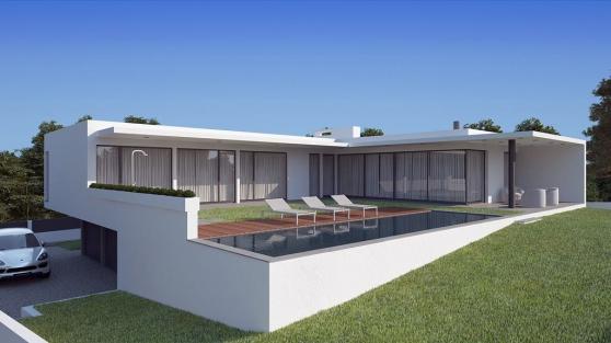 Villa moderne avec piscine - Marche.fr
