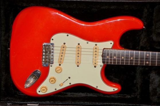 Authentique 1962 Fender Stratocaster