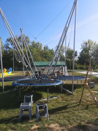 Annonce occasion, vente ou achat 'trampoline élastique 4 pistes'