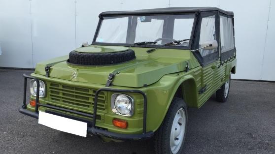 Annonce occasion, vente ou achat 'Citroen méhari 4×4 vert montana (1983'