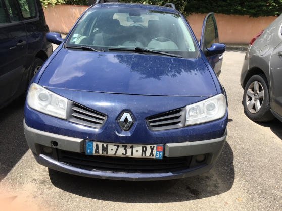 Annonce occasion, vente ou achat 'Renault megane II estate 2007'