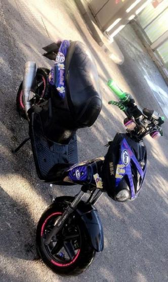 Annonce occasion, vente ou achat 'Stunt mbk pot GP kit 70 galet'