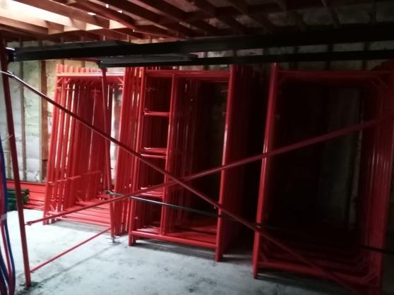 Échafaudage Neuf 60 m² et plus