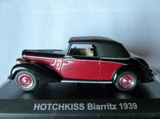 HOTSCHKISS BIARRITZ 1939 NOREV 1/43ème