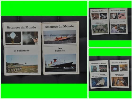 Annonce occasion, vente ou achat 'Sciences du Monde Collection'