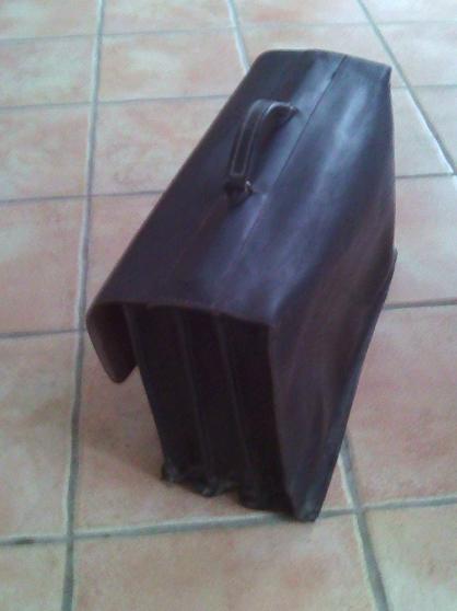 Cartable en cuir vintage - Photo 2