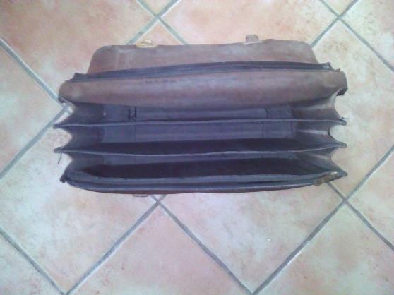 Cartable en cuir vintage - Photo 3