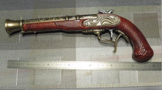 Pistolet à silex Forsyth (reproduction)