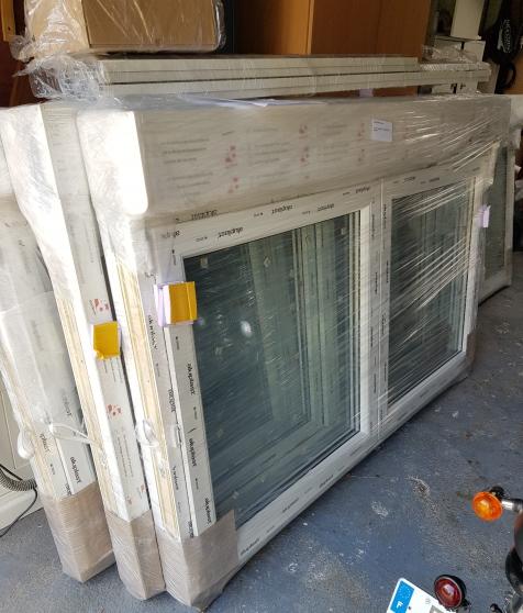 fenêtres PVC neuves