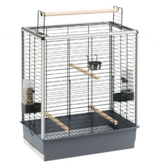 cage ferplast + support neuf