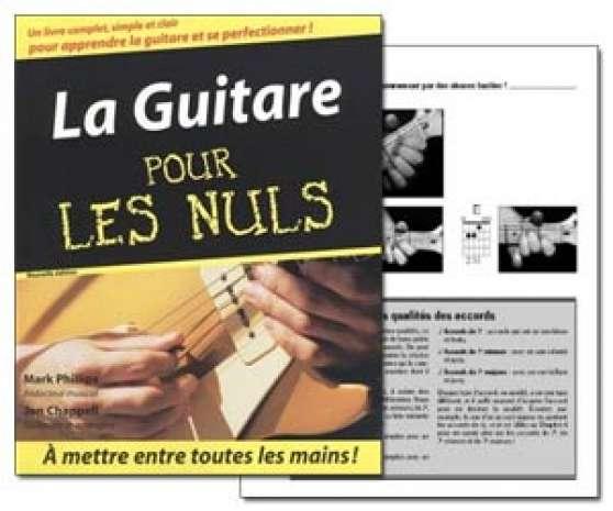 livre guitare avec le cd