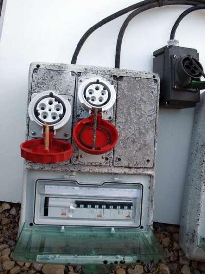 coffrets électriques équipés disjoncteur