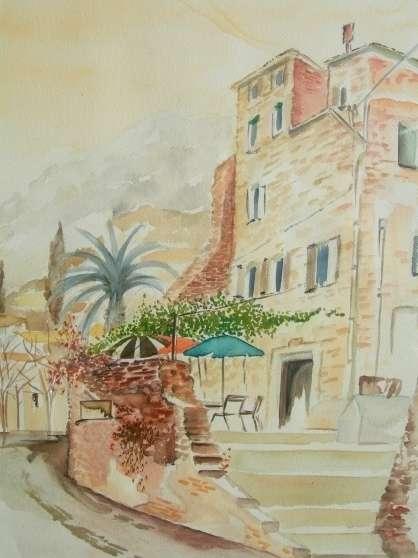 Annonce occasion, vente ou achat 'aquarelle signée 52 x 45'