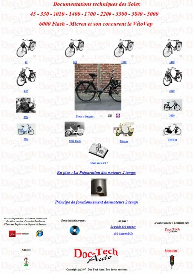 revue technique solex 1400 1700 2200 330 la bresse moto scooter v lo pi ces parts. Black Bedroom Furniture Sets. Home Design Ideas