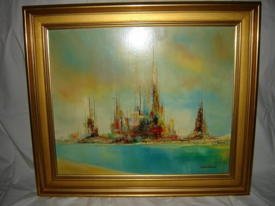 Annonce occasion, vente ou achat 'Peinture à l\'huile avec cadre 67x58 cms.'